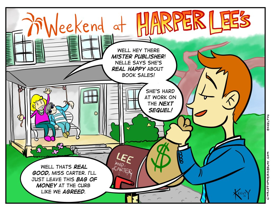 Weekend at Harper Lee's - Comic by Christopher Keelty