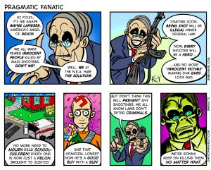 Pragmatic Fanatic - Comic by Christopher Keelty
