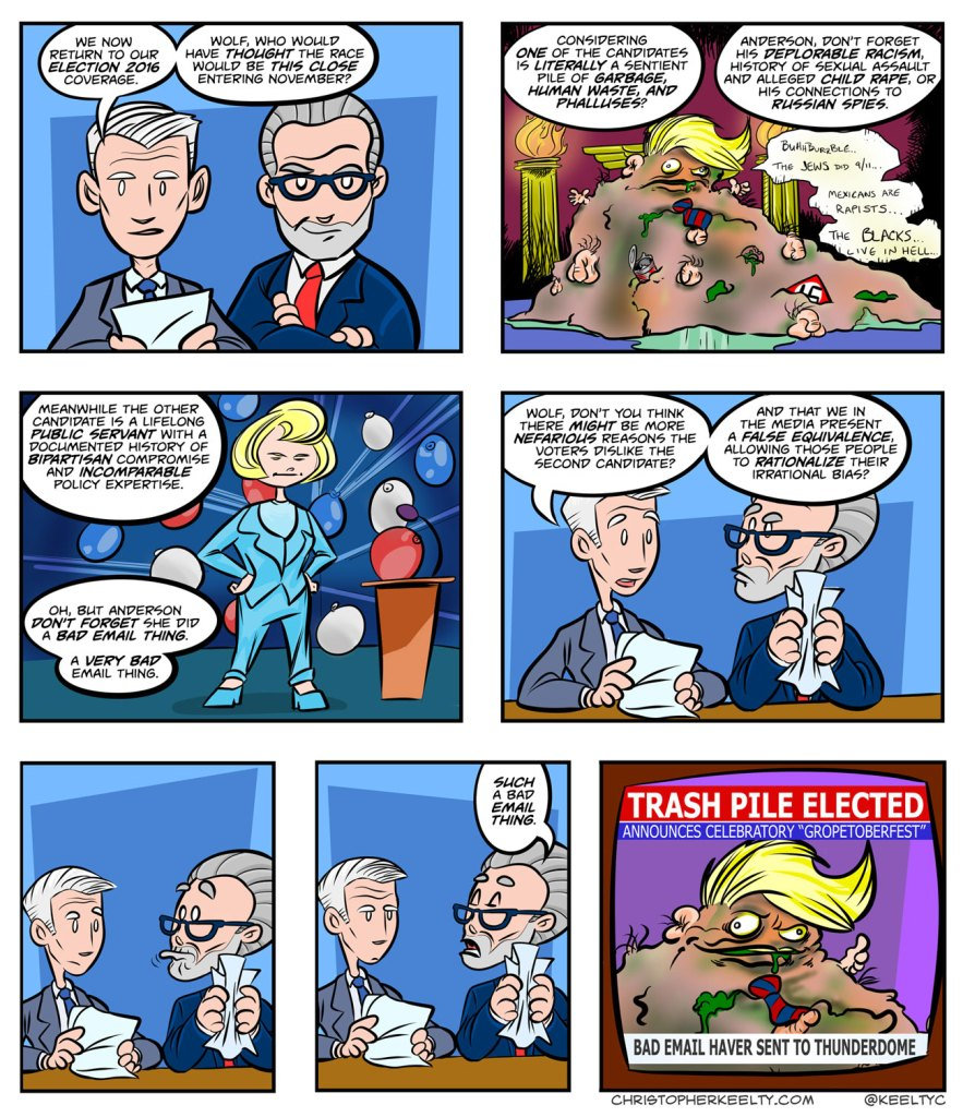 The Lesser - Comic by Christopher Keelty