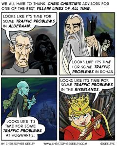 Time for Some Traffic Problems - Comic by Christopher Keelty