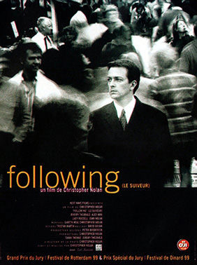 Affiche française de Following