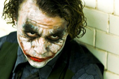 Le Jocker dans The Dark Knight