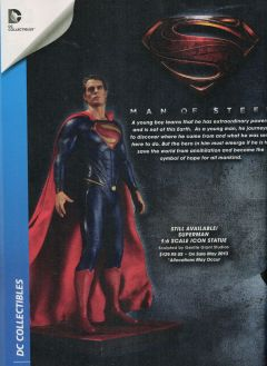 Superman en costume complet