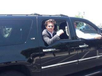 Johnny Depp en voiture