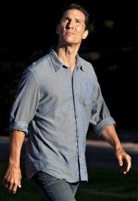 Matthew McConaughey à Okotoks, sur le tournage d'Interstellar