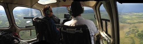 Vue aérienne de l'Alberta pour le tournage d'Interstellar