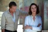 Paul Bettany et Rebecca Hall dans Transcendence