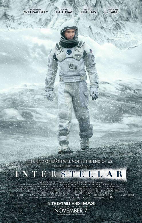 Deuxième affiche officielle d'Interstellar parue sur le site du magazine Empire en haute résolution