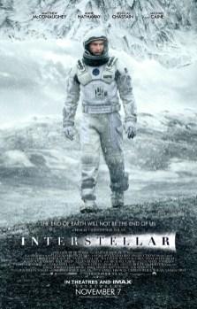 Deuxième affiche officielle d'Interstellar parue sur le site du magazine Empire