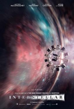 Quatrième affiche officielle d'Interstellar publiée par le site Total Film