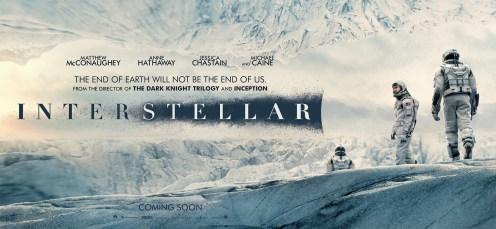 Première bannière d'Interstellar