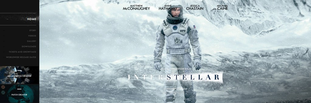 Interstellar : Le site officiel international
