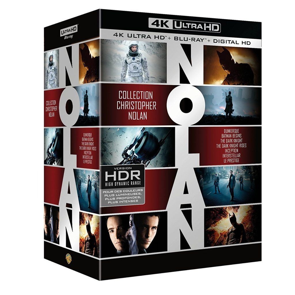 Collection Christopher Nolan 4K Ultra HD