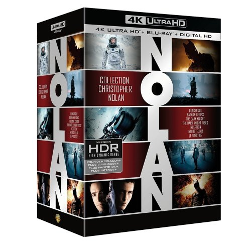 Collection Christopher Nolan 4K Ultra HD