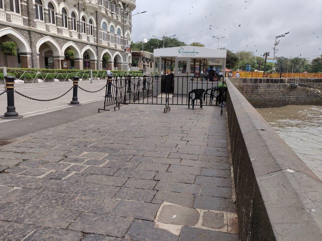 Le restaurant Chaand créé pour le tournage de Tenet à Mumbai, Inde