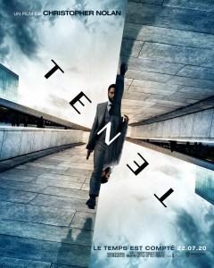 Première affiche officielle de Tenet