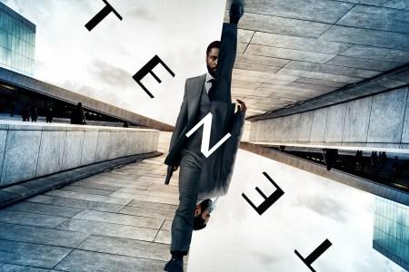 Première affiche officielle de Tenet, diffusée sur le compte Twitter de Warner Bros France le 19 décembre 2019