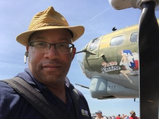 "Christopher C. Odom on location with ""Airborne Unlimited"" at the Sun n Fun Flyin 2016 in Lakeland, FL"