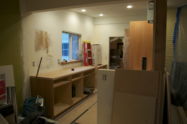 Kitchen remodel, things are coming together