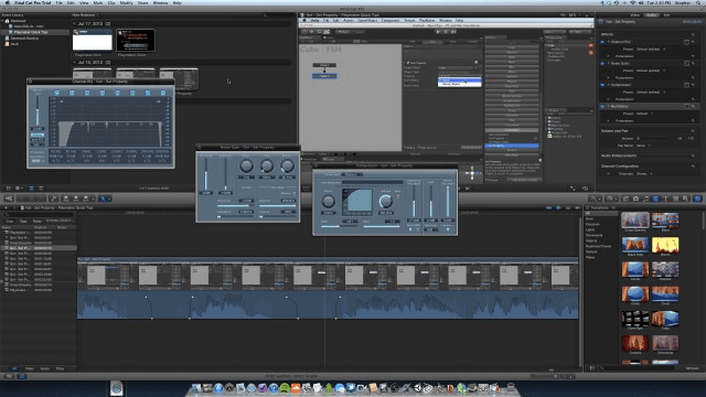 My First Projects Using Final Cut Pro X