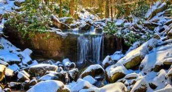 Rainbow Falls, Great Smoky Mountains National Park
