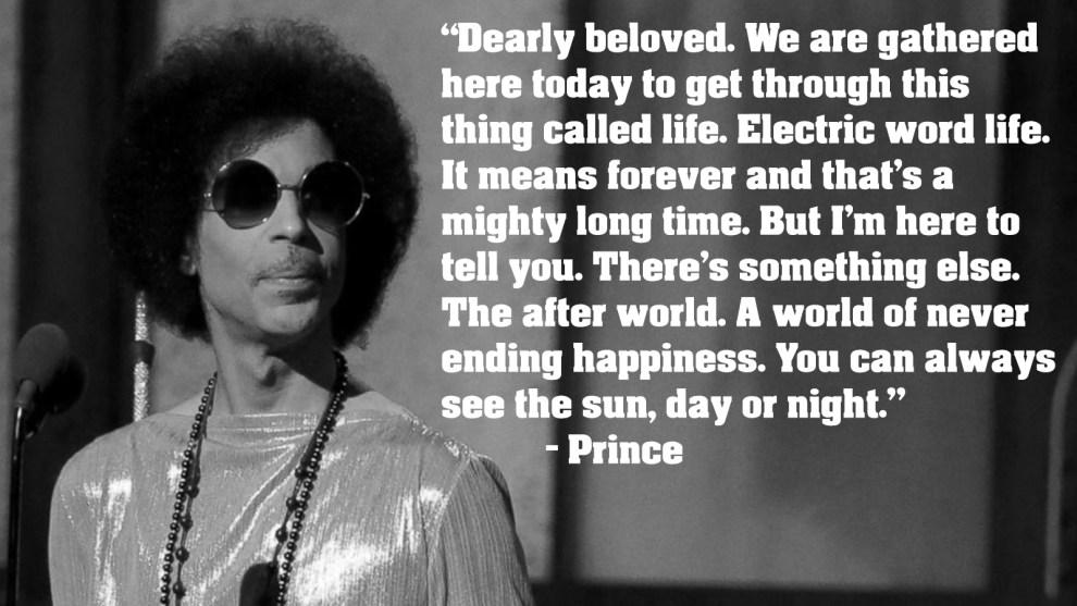 Prince: June 7, 1958 – April 21, 2016