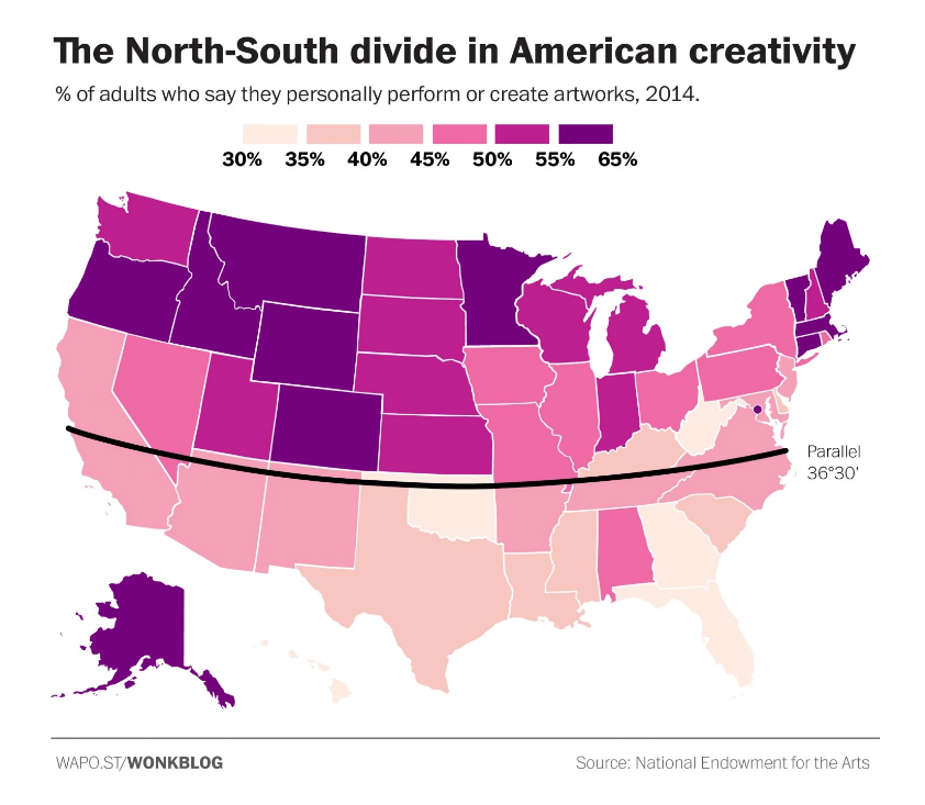 The North-South Creative Divide_2014