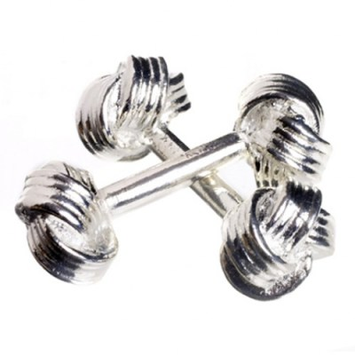 knot cufflinks