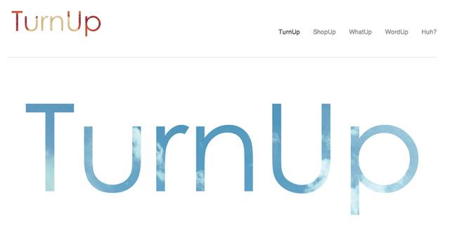 TurnUp site