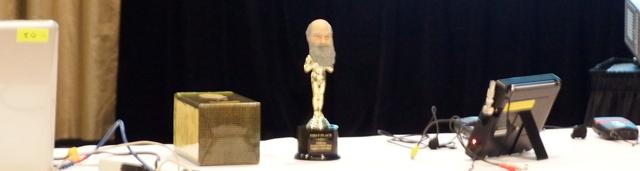 """The Coveted Evolution Film Festival """"Charles Bobble Head"""" Award"""