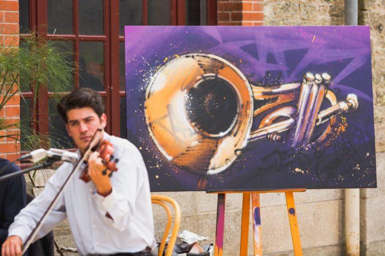 shooting photo graffer Sabio festivity's jazz chateau trevarez