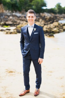 photo mariage plage saint jean Treboul