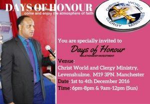 Days of Honour