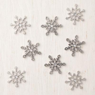 Snowflake Trinkets - qty 20 #149620 $8.00