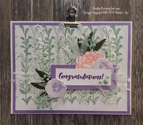 Frist Frost bundle Congratulations card