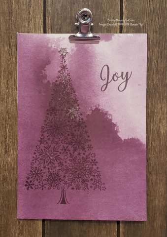 #SimpleStamping Snow is Glistening & Delightfully Detailed Note Cards card with a touch of Wink of Stella.