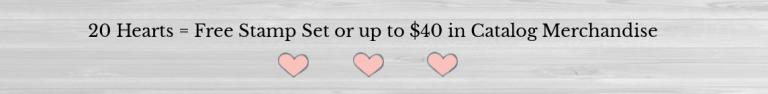 20 hearts earns a reward banner