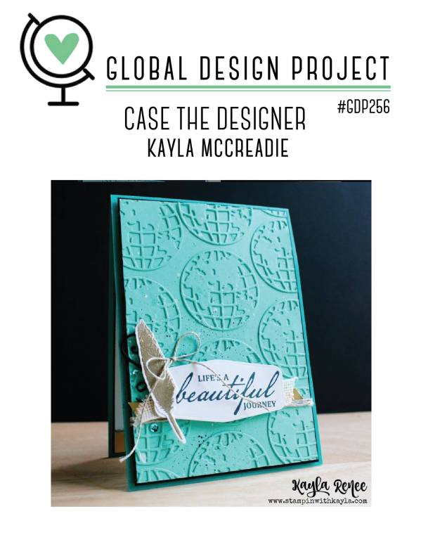link to the Global Design Project website and #GDP256