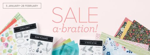 Shop and PDF links to the January-February 2021 Sale-A-Bration Brochure