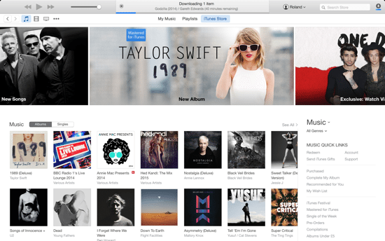 iTunes 12 Main Pic