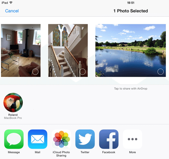 Share Files on iOS