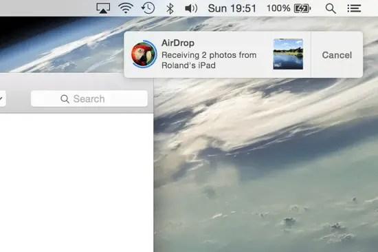 Receive Files Mac