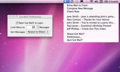 Got Mail Screenshot