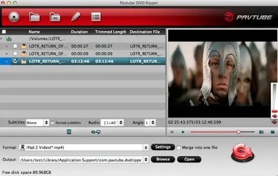 Pavtube Screenshot