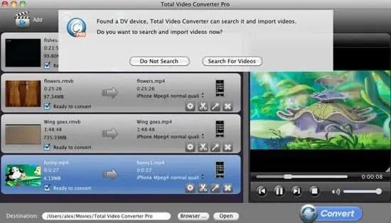 Total Video Converter Screenshot