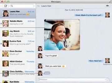 Messages Screenshot