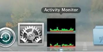 Activity Monitor - Dock Icon CPU History