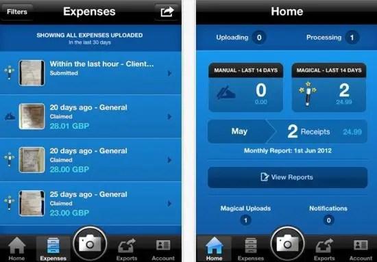 ExpenseMagic Screenshot