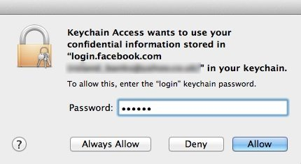 Find Lost Passwords On The Mac Using Keychain Access