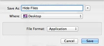 Save Workflow As App